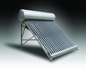 China CE High effficiency non-pressurized solar water heater on sale