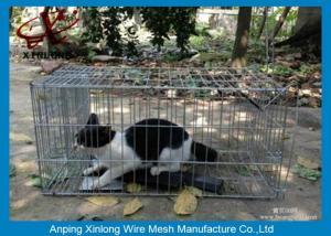 China Galvanisé/PVC a enduit la barrière soudée de grillage pour longueur de cages d'animal la diverse on sale