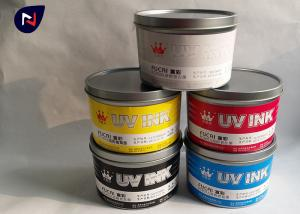 China High Quality dry fast UV Curing offset ink  for plastic substrate materials on sale