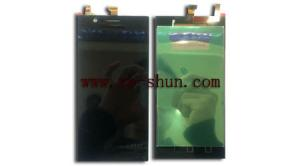 China Original Black Cell Phone LCD Screen Replacement For Lenovo K900 Complete on sale
