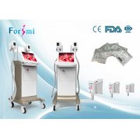 Vertical cryo 4 fat freeze cryolipolysis equipment cryogenic treatment machine for sale