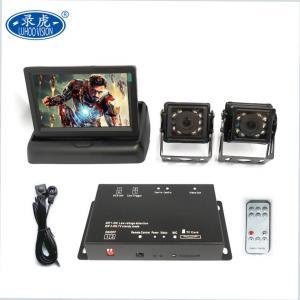 China Portable 2 Channel Car DVR / Remote Control Mobile Digital Video Recorder on sale