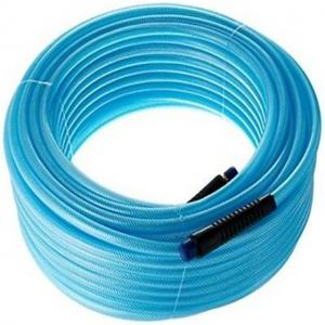 China 8.5mm high pressure 230bar double lines braided pvc spray hose on sale