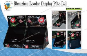 China Simple Cardboard Counter Display Stands Point Of Sale Display Boxes on sale