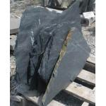 スレート石切り場の石