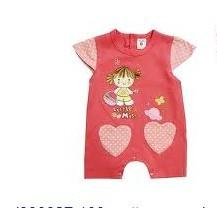 China 100% Cotton New Born Baby Red Short Sleeve Toddler Romper,Summer Baby Romper Suits on sale