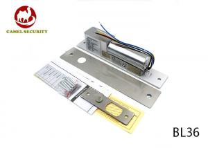 China Deadlocked Fail Safe Electric Lock , Door Bolt Lock DC12V / 450mA Voltage on sale