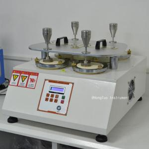 China ISO12945-2 Abrasion Testing Equipment Fabric Martindale Abrasion Resistance Pilling Tester on sale