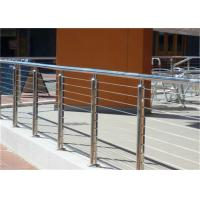 China 314 316 Stainless Steel Railing Stair Wire Balusters With Wire Fitting Accessories on sale