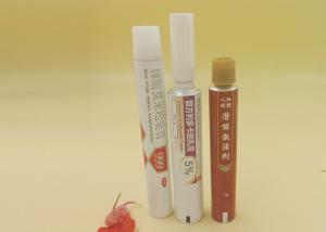 Quality 30ml Soft Aluminium Collapsible Tubes For Ointment Cream Printed Packaging for sale