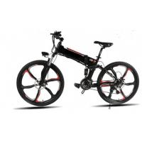 China Brushless Hub Motor Pedal Assist 26 Inch Electric Folding Bike on sale