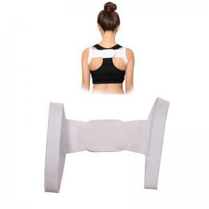 China Adjustable Posture Women Shoulder Corrector Back Support Chest Belt Wholesale.Size is 21cm*19cm. on sale