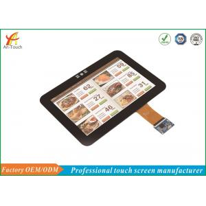 China Multi Point LCD CTP Touch Screen , Cover Glass Touch Panel Display 60Hz on sale