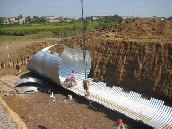 corrugated steel pipe design manual