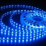 Silicone Coated Waterproof SMD 5050 LED Strip Light Aluminum Base Material 2700-6500k