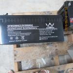 High Rate Shock Proof VRLA AGM SMF 12V Lead Acid Battery 200ah For LED Lighting