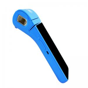 China 5.5 Handheld Mini Android POS Terminal with Thermal Printer / Barcode Scanner on sale