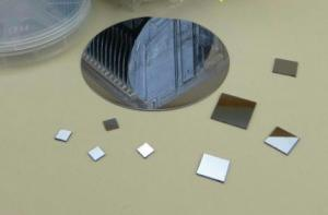 China Test Grade Monocrystalline Silicon Wafer , High Resistivity Silicon Wafer on sale