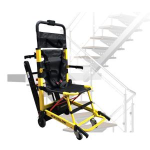 China Small Electric Stairlift Portable Stair Climber Wheelchair Aluminum Alloy PVC Seat on sale