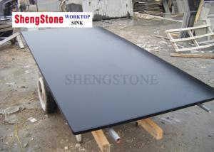 China Custom Black Epoxy Resin Worktop For Education Laboratory , Medical Institutions on sale
