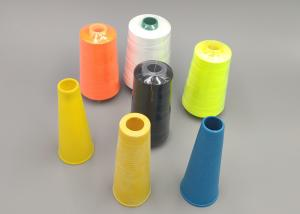 China High Strength Polyester Sewing Thread 20/2 2000 Yards 3000 Yards With Silicone Oil on sale
