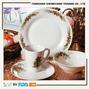 China Christmas porcelain dinner set kitchen sets on sale