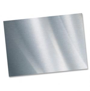 China High Brightness Aluminum Sheet Coil , Shiny Aluminum Sheet Excellent Weldability on sale