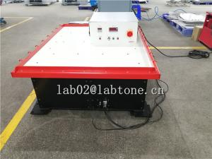 China Durable Mechanical Shaker Table Performs Rotary Vibration Test For 500Kg Packing Test on sale