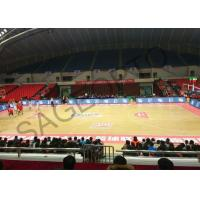 China Basketball Stadium Perimeter Led Display Screen 6mm High Definition Aluminum Cabinet on sale