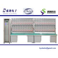 Single Phase Meter Test Bench,48 calibrated energy meter, 0.001Amps~120Amps,30~300Volts