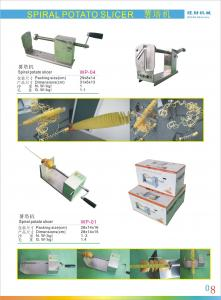 China good quality spiral potato maker with CE certificate on sale