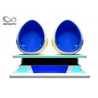 Indoor Game Machine 9D Egg VR Cinema 3 Aixs ( 3 dof ) Movement 12 Months Warranty