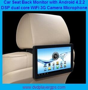 China New Android 4.2.2 10.1 back seat car monitor with Wifi,3G Function,FM transmitter on sale