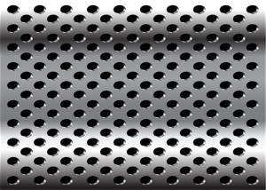 China Diamond 3mm 2mm Perforated Anodized Aluminum Panels ISO9001-2008 Standard on sale