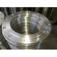 China Forged carbon steel A105N ASME B16.5 class 1500 slip on pipe flange on sale