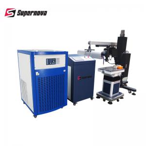 China 0.2mm - 2mm Focal Spot Mould Laser Welding Machine for Iron / Steel on sale