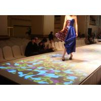 Interactive Floor System for Advertising , Wedding Decoration , 3D Mapping Projection