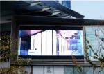 Video Advertising P10 Outdoor SMD LED Display 7500cd/sqm Brightness FCC Approved