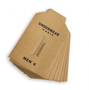 China Envelope Packaging Paper Shopping Bags Kraft Material Custom Printed For T Shirt on sale