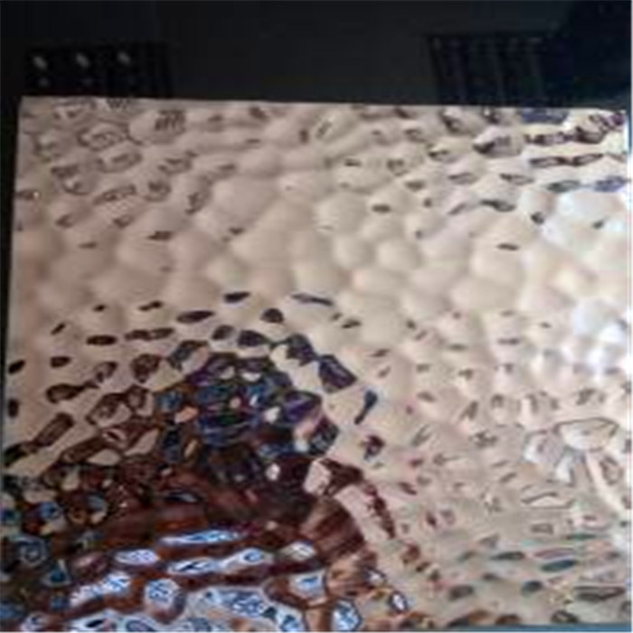 Stainless Steel Hammered Sheet 304 316 Grade Embossed