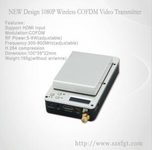 China 1080P COFDM  mini hdmi/sdi digital wireless Video Transmitter for UAV on sale