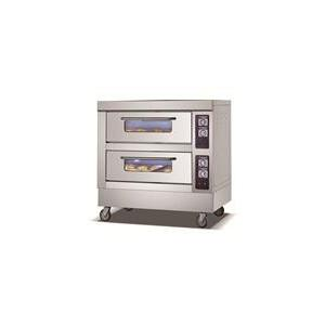 China Double Layer Six Tray Electric Baking Oven , Commercial Electric Pizza Oven on sale