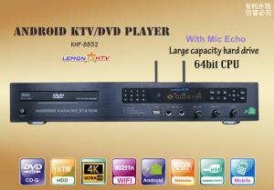 China Lemon KTV karaoke jukebox sing machine with 4k ultra HD system,download vietnames english from cloud,bulid in DVD-ROM on sale