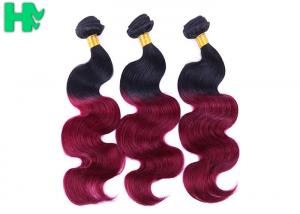 China Ombre Color Human Hair Natural Human Hair Weave Bundles 8A Body Wave on sale