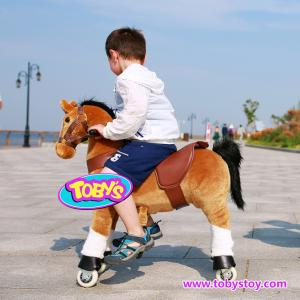 China Tobys ride on  horse pony cycle on sale