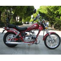 50cc High Powered Motorcycles With 2 Seats Air Cooled International Gear 4 Speed