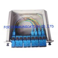 Fiber Optic PLC Splitter 1×4 For PON Networks Optical Power Signal Distribution