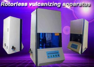China Rotoless Vulcanizing Apparatus Rubber Testing Instruments For Silica Gel Temp 100 To 200 ℃ on sale