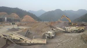 China Henan Hongji complete rock crushing plant for sale on sale