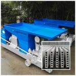 new green high frenquency  precast hollow core concrete lightweight partition 90*600mm wall panel making machine